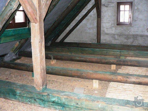 Zhotovení podlahy v podkroví: P_strana