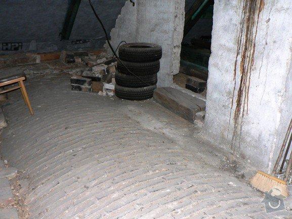 Zhotovení podlahy v podkroví: stred