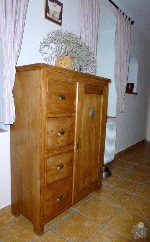 Masivní stylový nábytek: chlebovka