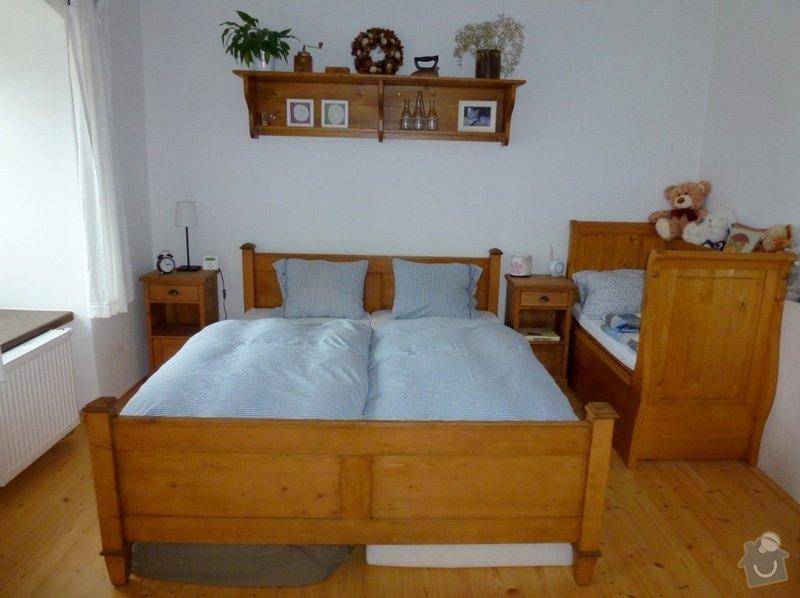 Masivní stylový nábytek: loznice