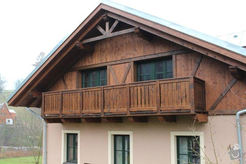 Balkony a obložení penzionu: IMG_5271