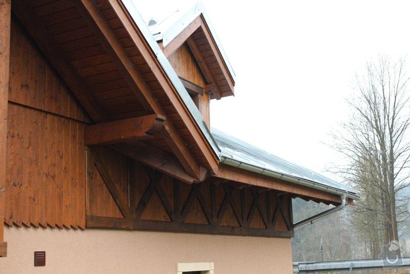 Balkony a obložení penzionu: IMG_5274