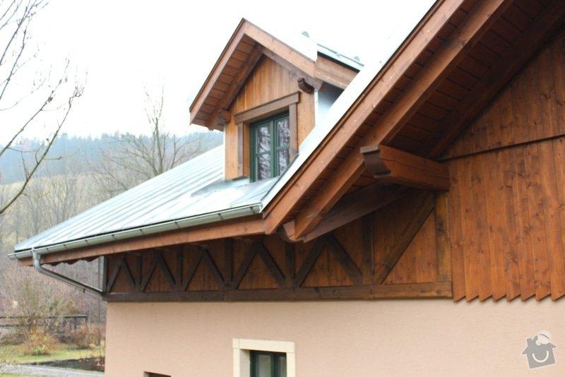 Balkony a obložení penzionu: IMG_5275