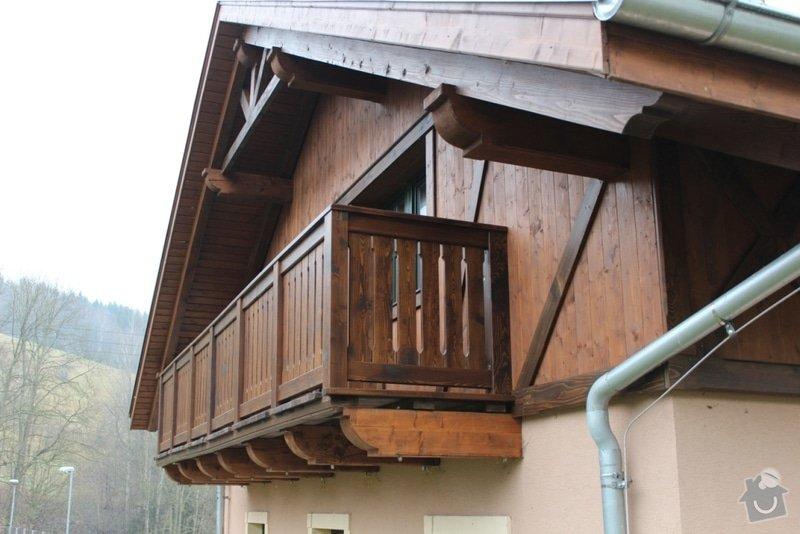 Balkony a obložení penzionu: IMG_5278