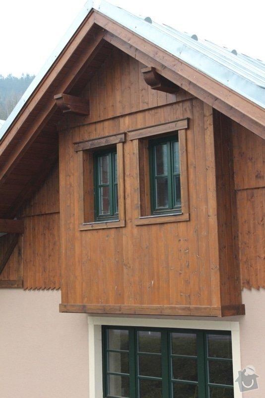 Balkony a obložení penzionu: IMG_5281