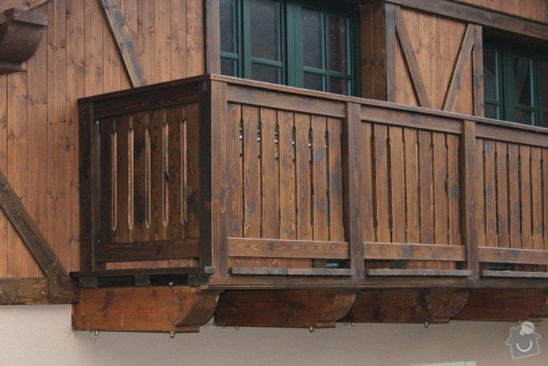 Balkony a obložení penzionu: IMG_5286
