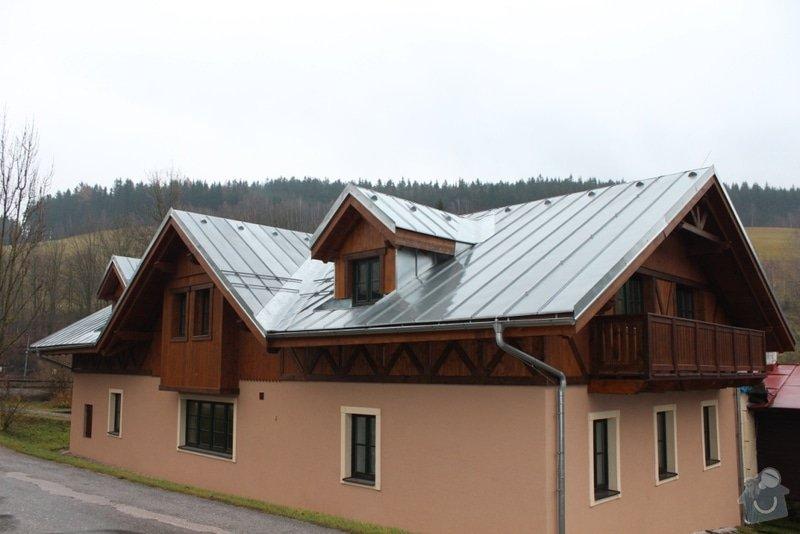 Balkony a obložení penzionu: IMG_5288