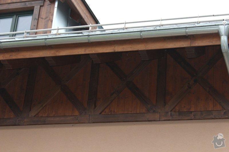 Balkony a obložení penzionu: IMG_5291