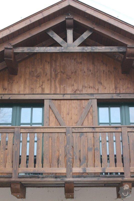 Balkony a obložení penzionu: IMG_5296