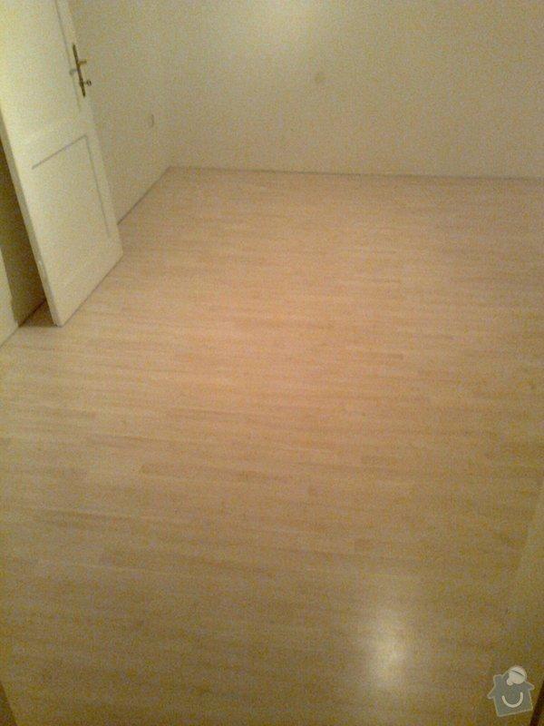 Laminátová plovoucí podlaha: 4