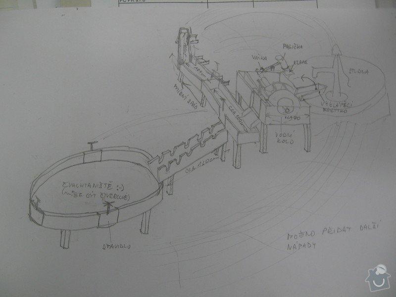 Výrobu dřevěných vodních herních prvků (korýtka): IMG_2796