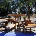 Vyrobu drevenych vodnich hernich prvku korytka korytka na vodu