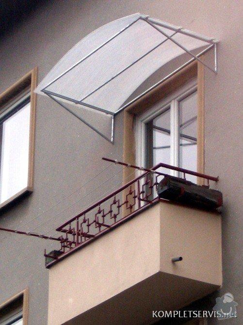 Zastřešení balkónu a vchodu: IMG_0394