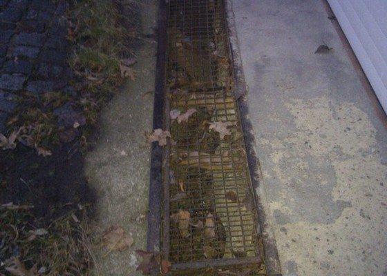 Vytvoreni zakryti zlabu pro odpad vody
