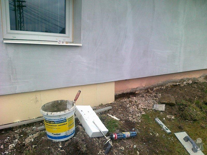 Zhotovení zateplovací fasády: 2012_033