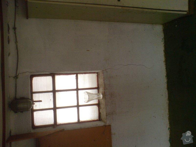 Zednické práce, rekonstrukce garáže: DSC01186