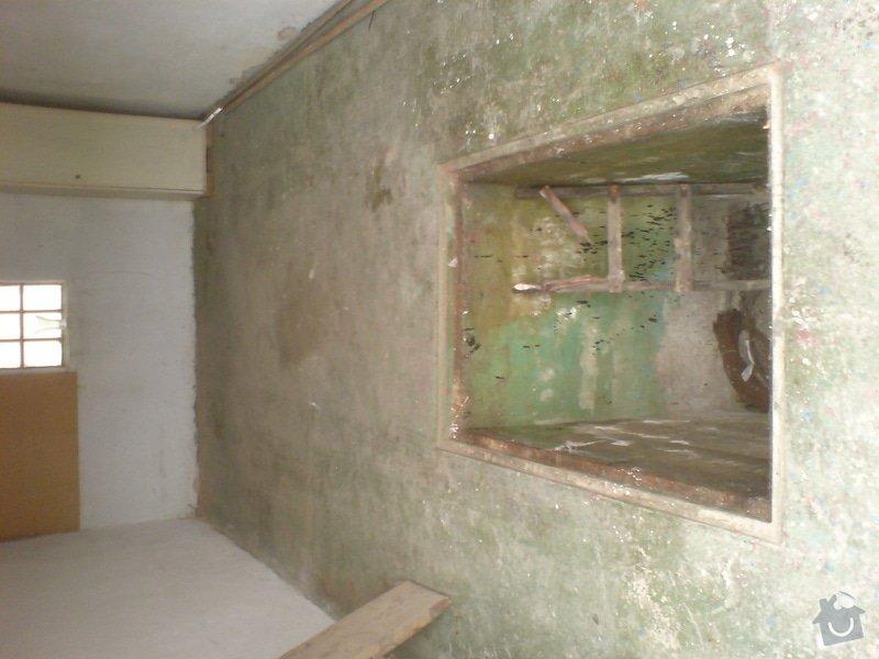 Zednické práce, rekonstrukce garáže: DSC01188