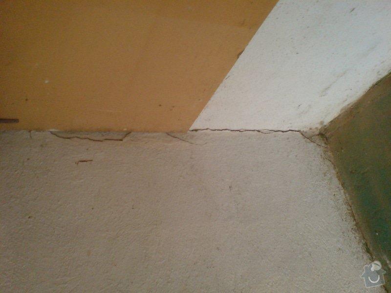 Zednické práce, rekonstrukce garáže: DSC01190