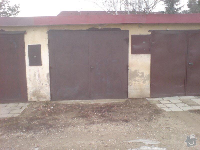 Zednické práce, rekonstrukce garáže: DSC01183