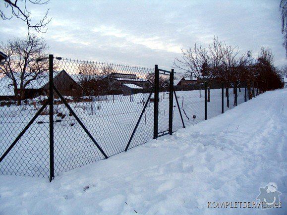 Asi 30 metrů drátěného plotu, bez podezdívky, branku: IMG_0382