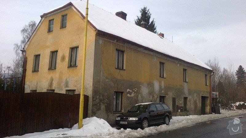 Renovace a nátěr fasády: 2012-12-25-152