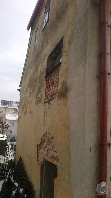 Renovace a nátěr fasády: 2012-12-25-135