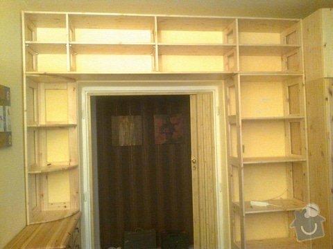 Knihovna - masiv, Nástavce na skříň: 20122012118