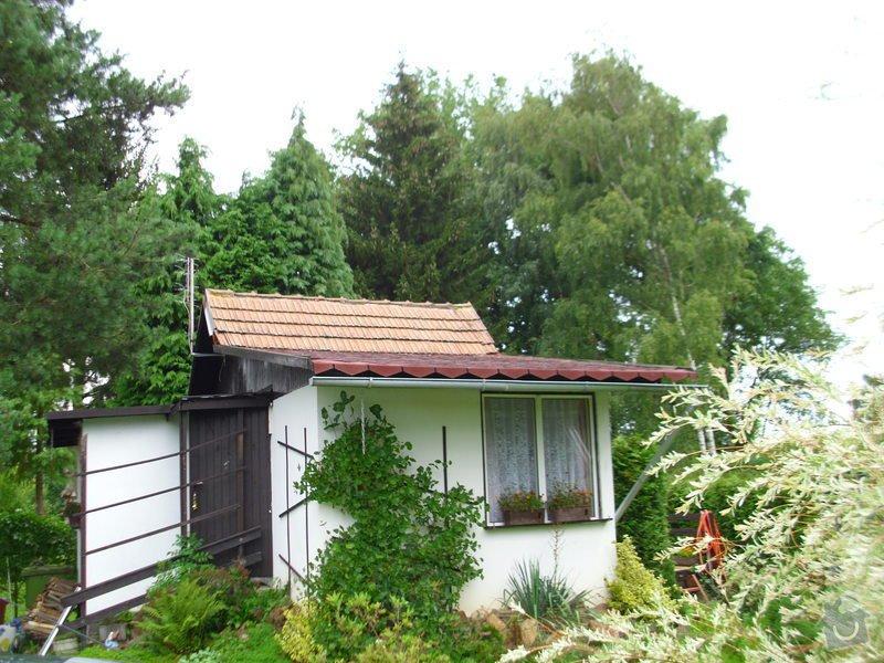 Střecha na chatě,pergola a montáž zahradního domku: IMG_1007