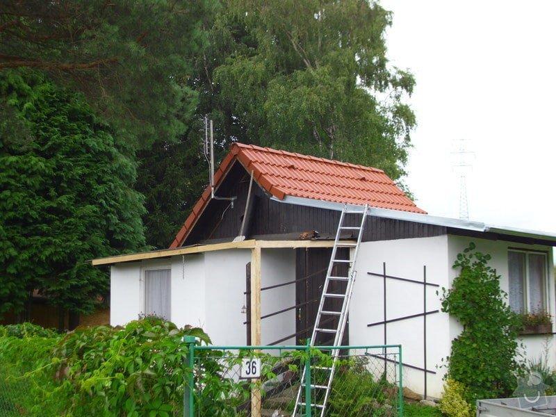 Střecha na chatě,pergola a montáž zahradního domku: IMG_1021