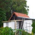 Strecha na chate pergola a montaz zahradniho domku img 1021