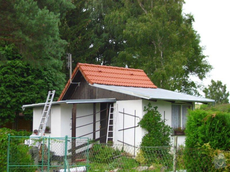 Střecha na chatě,pergola a montáž zahradního domku: IMG_1037
