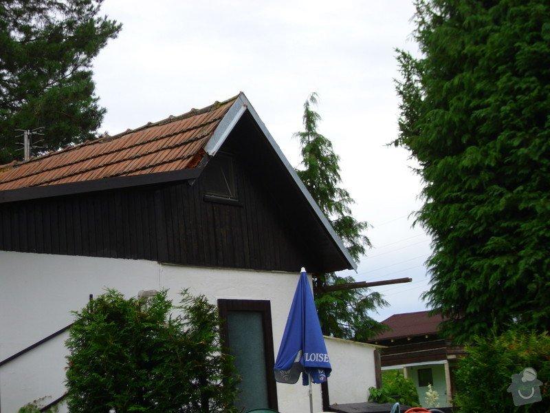 Střecha na chatě,pergola a montáž zahradního domku: IMG_1010