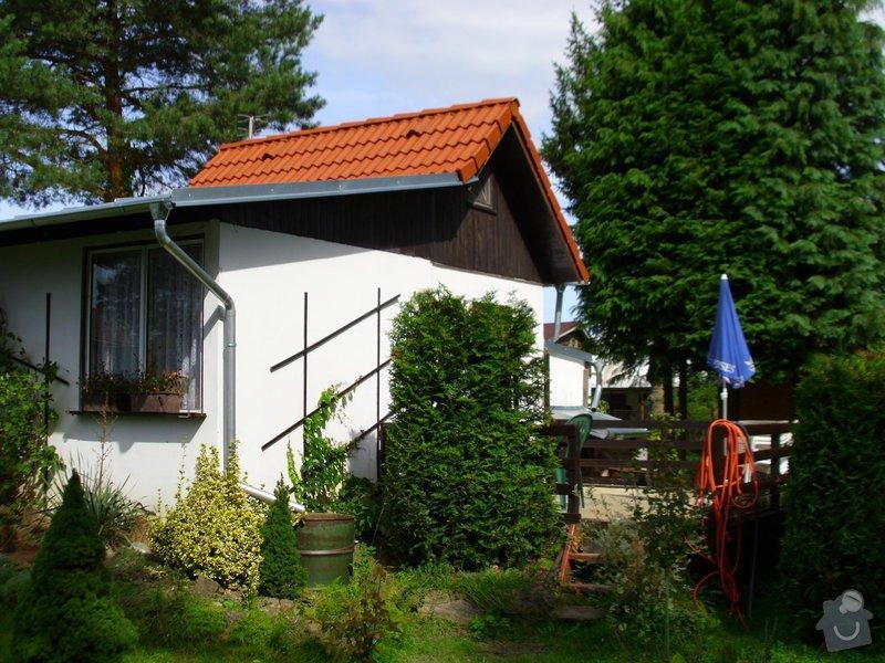 Střecha na chatě,pergola a montáž zahradního domku: IMG_1048