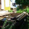 Strecha na chate pergola a montaz zahradniho domku img 1281