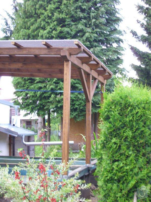 Střecha na chatě,pergola a montáž zahradního domku: IMG_1329