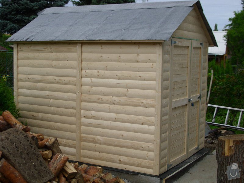 Střecha na chatě,pergola a montáž zahradního domku: IMG_1315