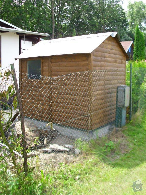 Střecha na chatě,pergola a montáž zahradního domku: IMG_1355