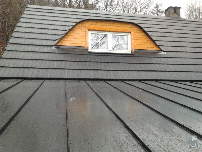 Pokrytí střechy verandy, instalace okapového systému, oprava střechy: 2012-12-28_12.30.07