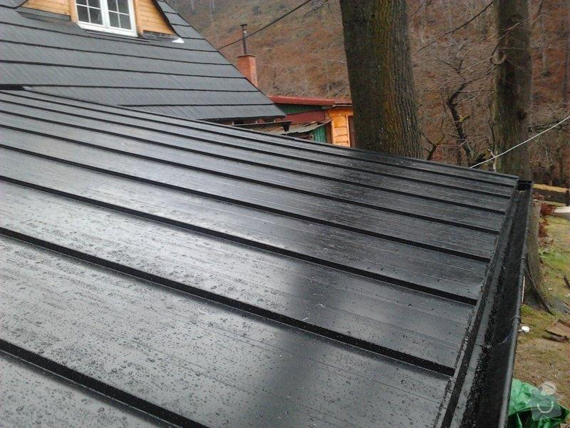 Pokrytí střechy verandy, instalace okapového systému, oprava střechy: 2012-12-28_12.29.56