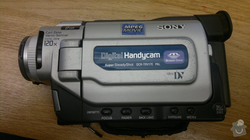 Propojení DV kamery a notebooku: 2013-01-11-3093
