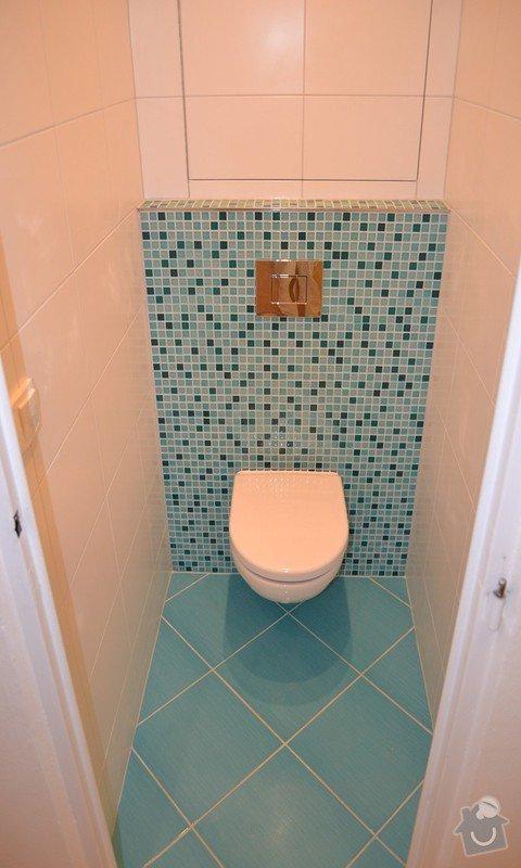 Dokončení rekonstrukce WC v bytě, instalace geberitu, obklady: DSC_0951