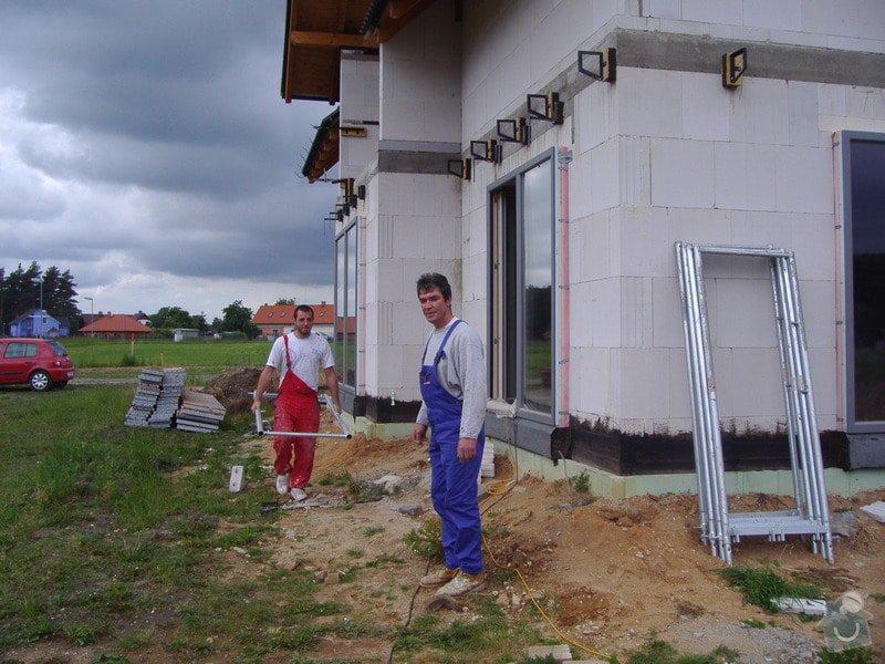 Zateplení nízkoenergetického domu: Foto_2009_012