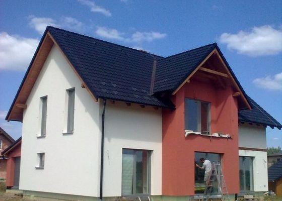 Zateplení nízkoenergetického domu