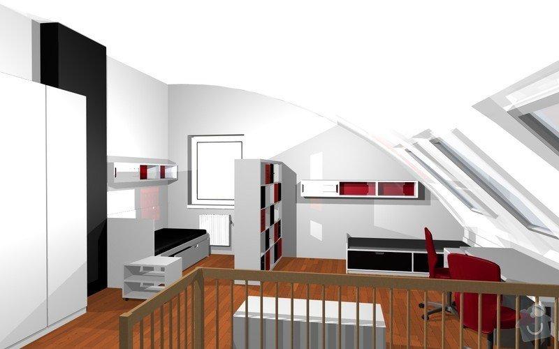 Návrh interiéru dětského pokoje v Plzni: 6