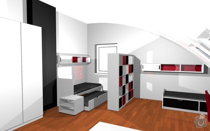 Návrh interiéru dětského pokoje v Plzni: 7