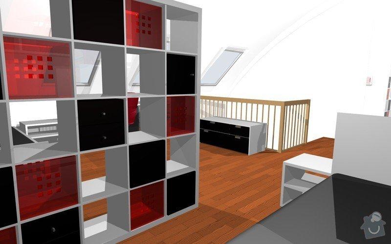 Návrh interiéru dětského pokoje v Plzni: 9