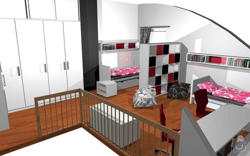 Návrh interiéru dětského pokoje v Plzni: 15