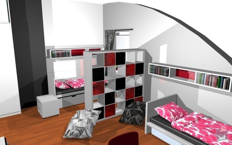 Návrh interiéru dětského pokoje v Plzni: 16