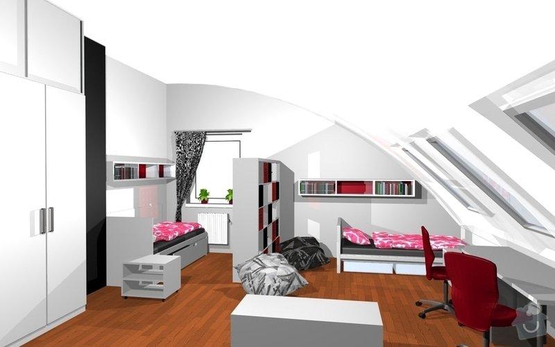 Návrh interiéru dětského pokoje v Plzni: 17