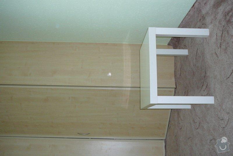 Rohová vestavěná skříň lamino: P1120714